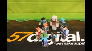 Minecraft Papercraft Studio - Stop Motion