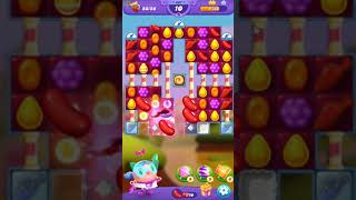 Candy Crush FRIENDS Saga level 447 no boosters