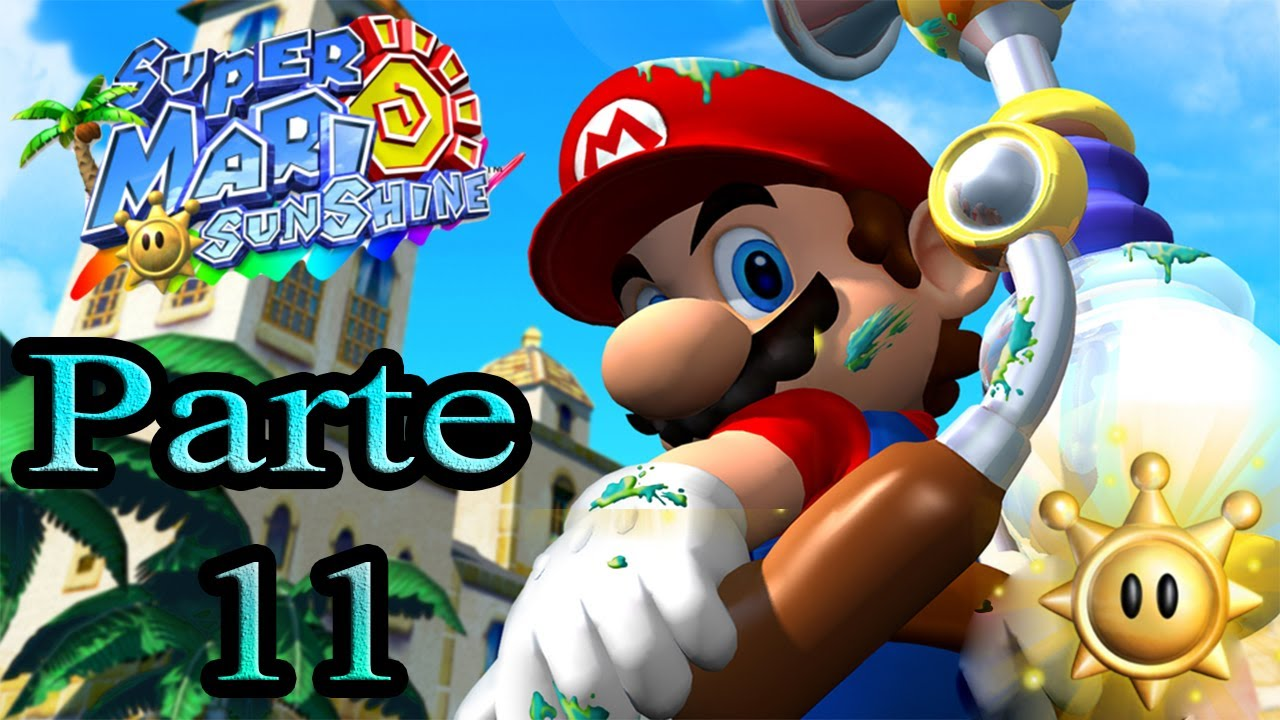 Let's Play : Super Mario Sunshine - Parte 11 - YouTube