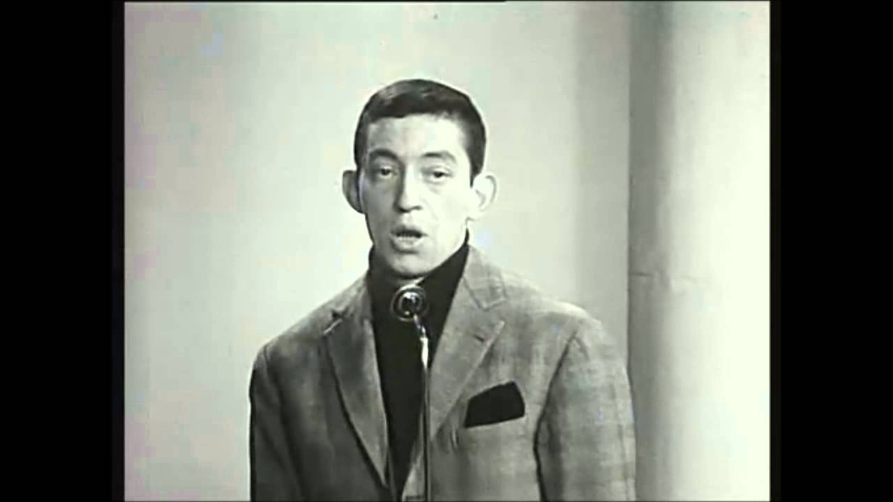 serge gainsbourg le poin onneur des lilas 1959 youtube. Black Bedroom Furniture Sets. Home Design Ideas