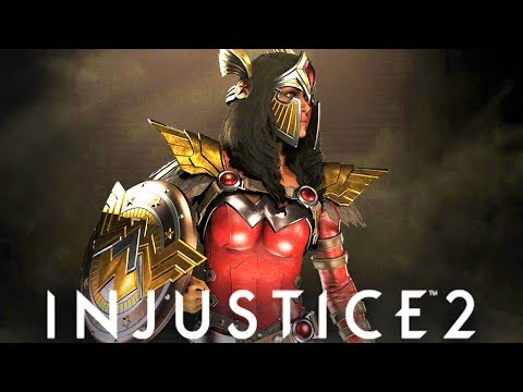 INJUSTICE 2 - NEW!!! EPIC GEAR FIRST LOOK (wonder woman New gear)