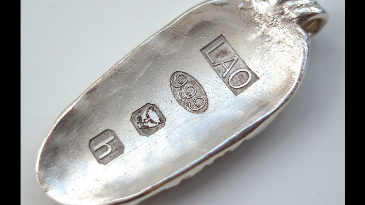 Hallmarking your Precious Metal Clay - PMC - YouTube