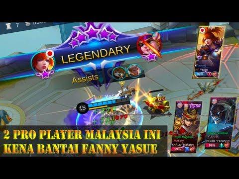 2 Pro Player Malaysia Ini Kena Bantai Fanny Yasue Di National Arena Contest - Mobile Legends