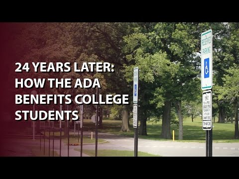 24 Years Later: How the ADA Benefits College Students