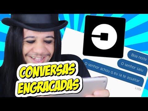 CONVERSAS MAIS ENGRAÇADAS DO UBER