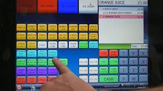 For more information visit: https://www.shopstuff.co.uk basic demonstration of the latest sam4s hospitality touch screen cash register system. new ...