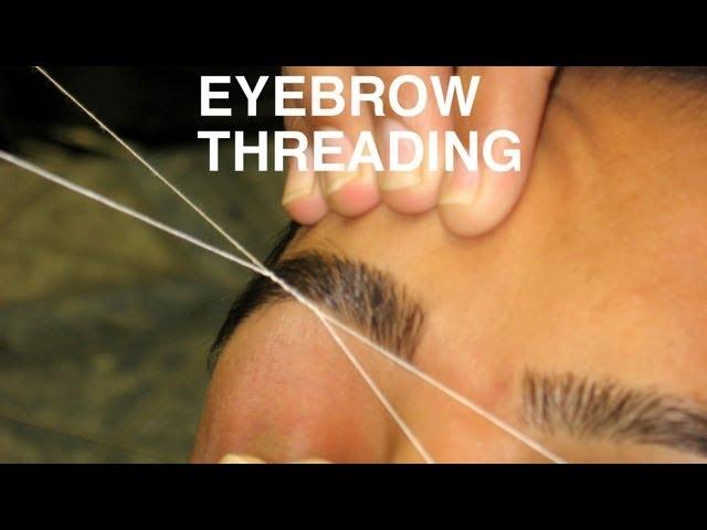 Eyebrow Threading How To Thread Your Eyebrows Makeup Tutorial
