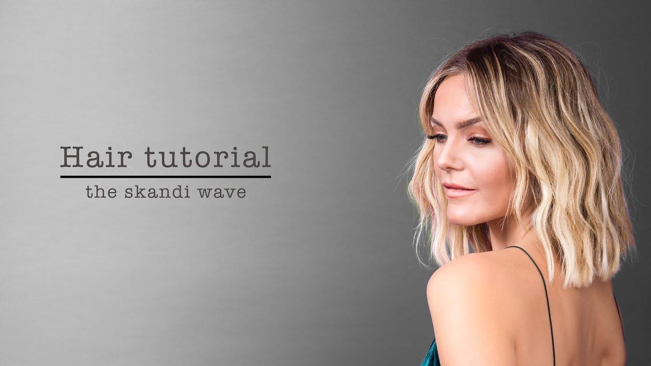 bølger i kort hår