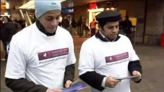 RTL - Die Plakataktion der Ahmadiyya Muslime (Dawa)