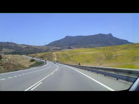 Spain: Driving to Málaga, Costa del Sol