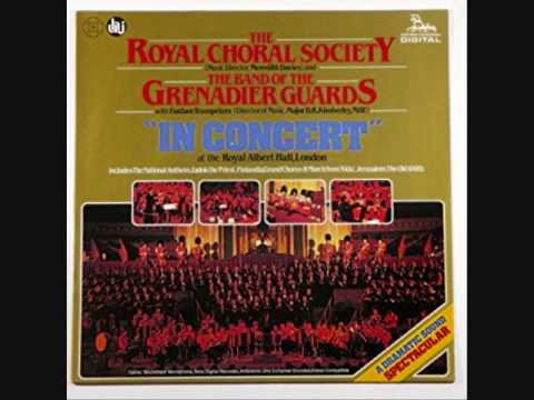Grand March Aida The Royal Choral Society & Grenadier Guards Band ''Live'' at RAH 1980