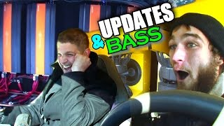 Car Audio Updates & BASS FLEX w/  EXO's 6 18