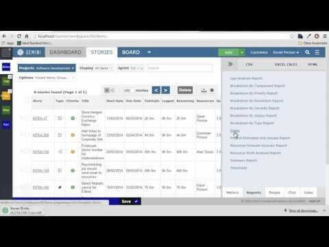 Create Custom Reports In Gemini