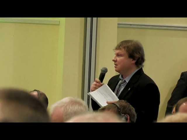 Lilleküla Televisioon - Maailma Energianõukogu Konverents - Lilleküla seltsi küsmused