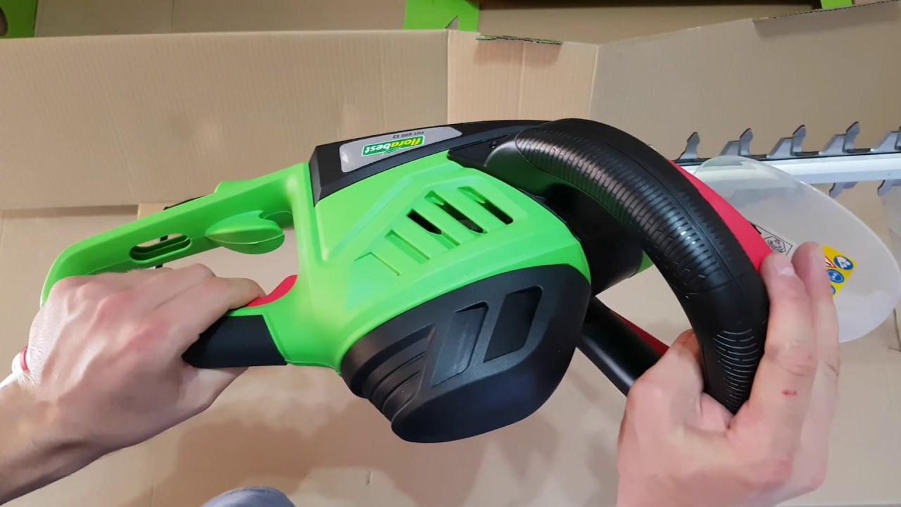 Florabest Electric Hedge Trimmer Fht 600 E3 Unboxing Review
