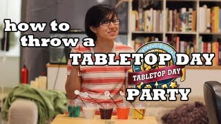 Throw a Tabletop Day Party!