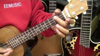 How To Play LAST CHRISTMAS Wham! George Michael  On Ukulele Easy Tutorial