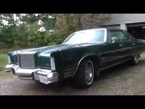 1978 Chrysler New Yorker Brougham, original condition