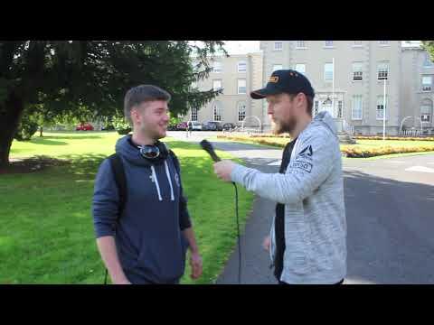 Owen Colgan visits Yeah Burgr Maynooth