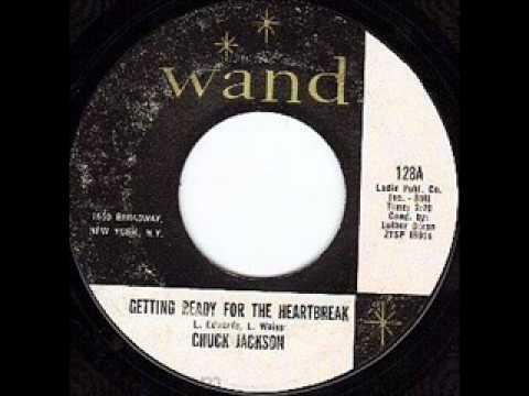 CHUCK JACKSON   Getting Ready For The Heartbreak  SEP '62