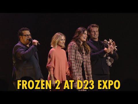 Disney's Frozen 2 Walt Disney Studios Panel   D23 Expo 2019