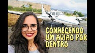 CONHECENDO AVIÕES E TOUR PELA ESCOLA DE AVIAÇÃO - S.O.S. ISA
