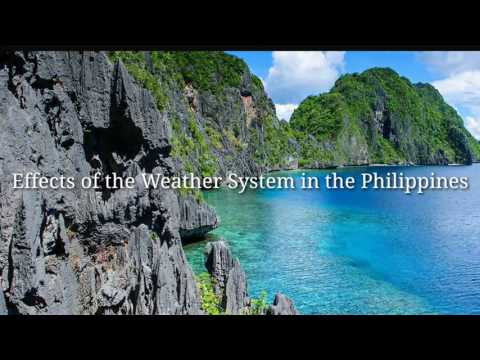 Seasons and Monsoons in the Philippines