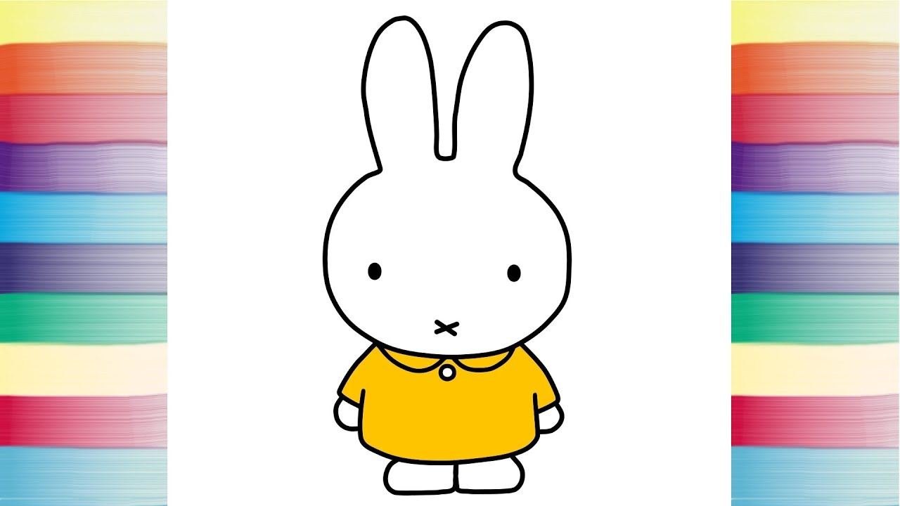 Miffy-friends-colouring | Cartoon coloring pages, Friend cartoon ... | 720x1280