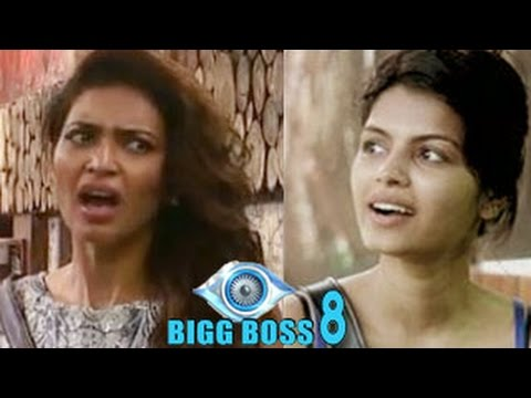 Bigg Boss 8 8th October 2014 Episode | Karishma THROWS water on Sonali's FACE
