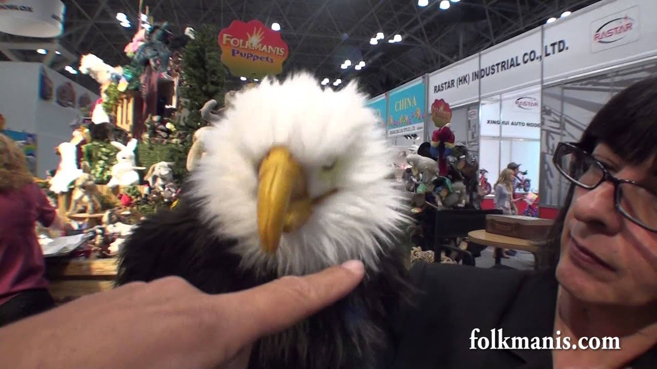 FOLKMANIS PUPPETS TOY FAIR 2014