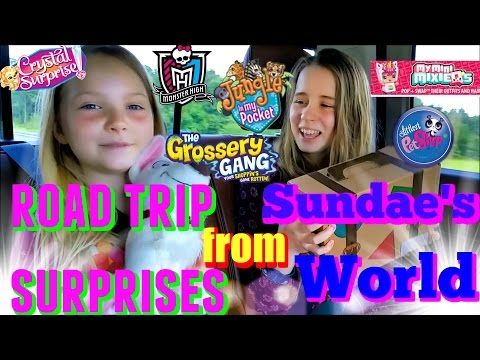 Blind Bags SURPRISE TOYS!!! Sundae's World Subscription Box unboxing and Review