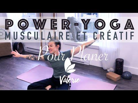 Power Yoga Intermédiaire - Flow musculaire et créatif pour planer