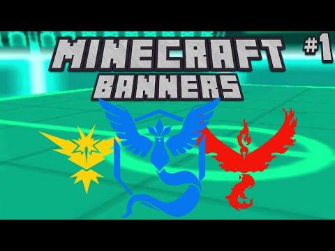 minecraft banners pokemon go youtube