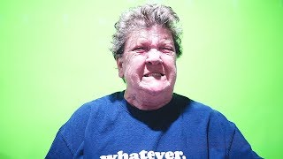 ANGRY GRANDMA GREEN SCREEN FUN!