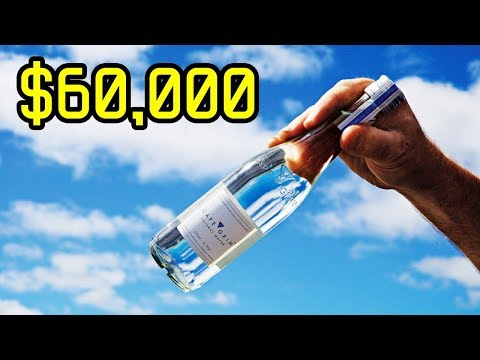10 Most Expensive Bottled Waters In The World