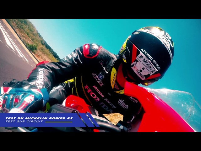 Freddy Foray teste le MICHELIN Power RS pour Allopneus.com