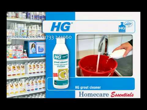 HG Hagesan Grout Cleaner   How to clean floor and wall tile grout joints