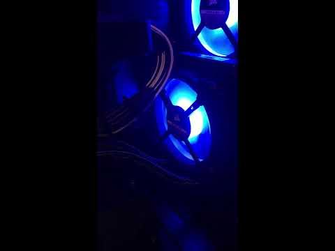 Corsair RGB icue Bug
