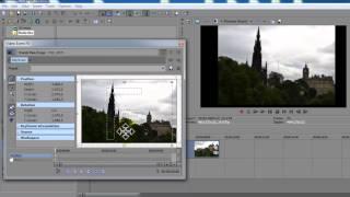 Tutorial Sony Vegas - Como colocar foto na tela inteira (Widescreen Tv Aspect Ratio)