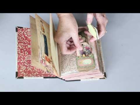 Jane Austen Journal Using Repurposed Book