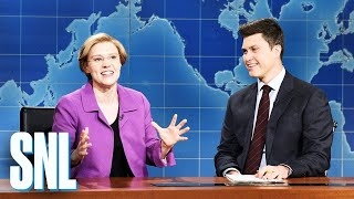 Weekend Update: Senator Elizabeth Warren on College Debt Forgiveness - SNL