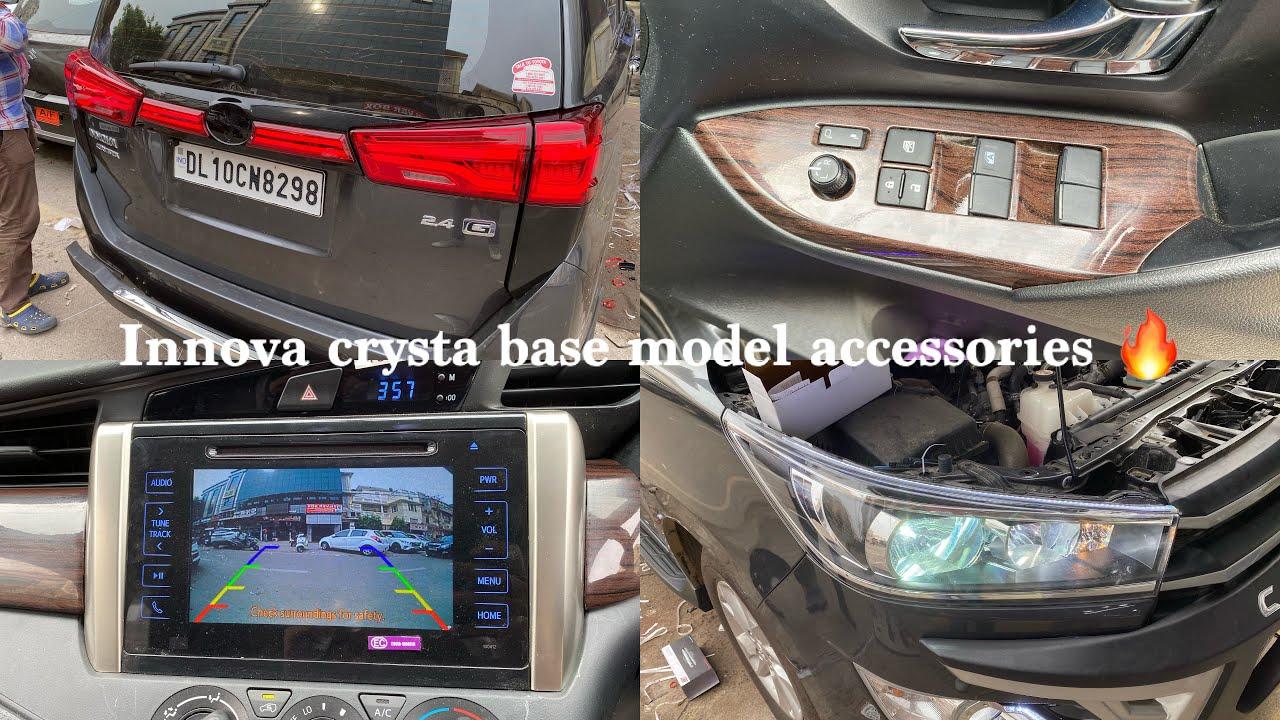 Innova crysta modifications & accessories  |Innova crysta modified |Innova crystal interior modified
