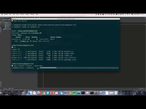Webpack 2 - A full tutorial