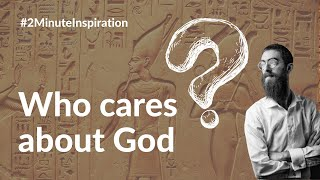 Who cares about God?