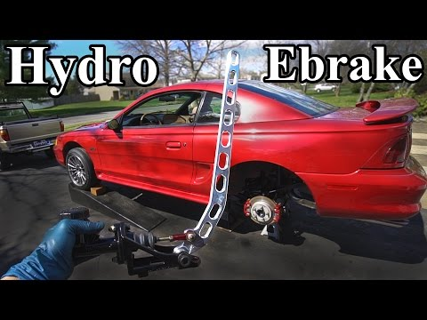 Thumbnail: How to Install a Hydro Ebrake (Hydraulic E brake)