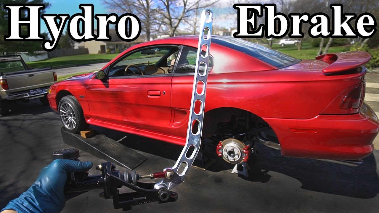 How To Install A Hydro Ebrake Hydraulic E Brake
