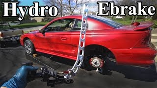 Download How to Install a Hydro Ebrake (Hydraulic E brake) Mp3 and Videos
