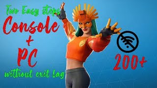 How to Reduce Ping on Middle East Servers | Console & PC for free | FortniteMiddleEastServers