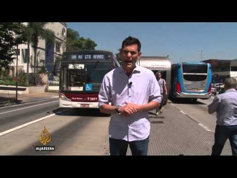 Sao Paulo commuters welcome electric buses