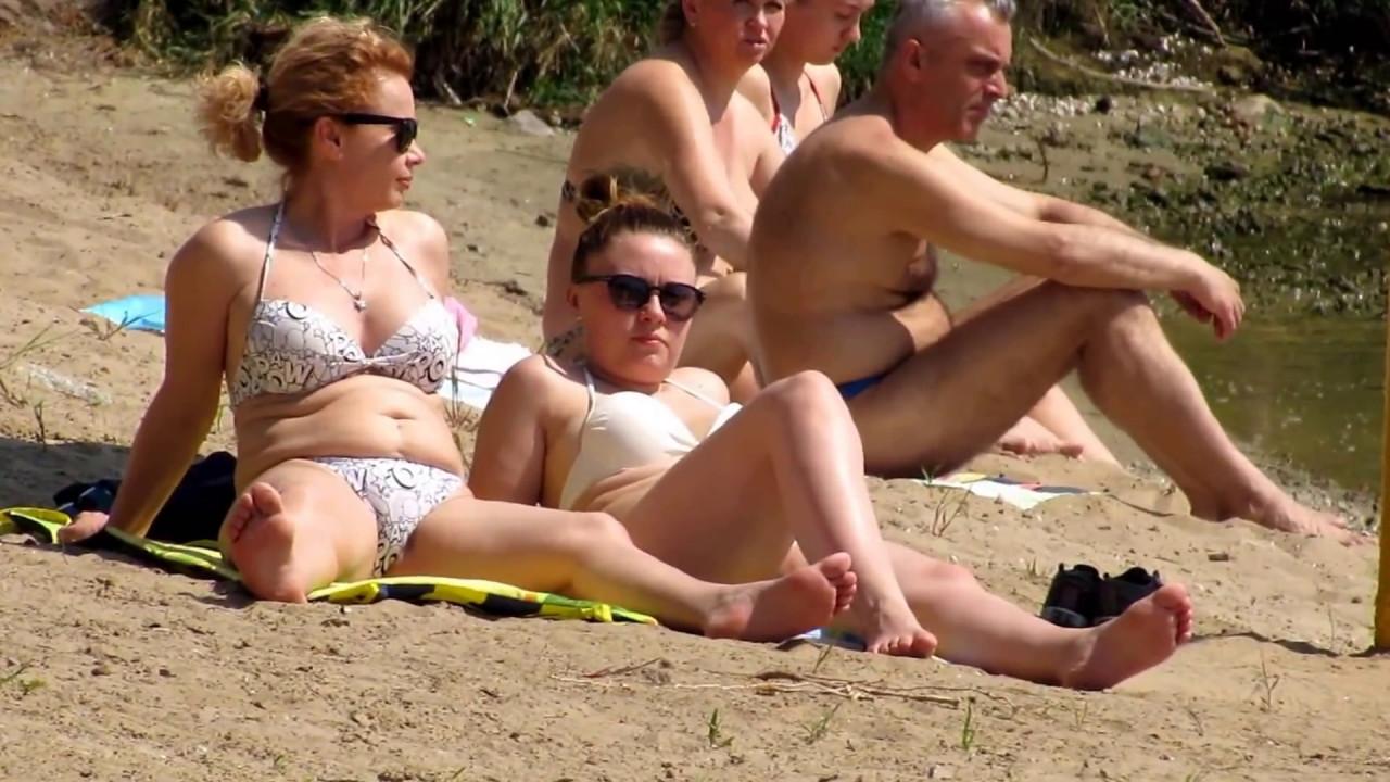 Видео секса на диком пляже моему